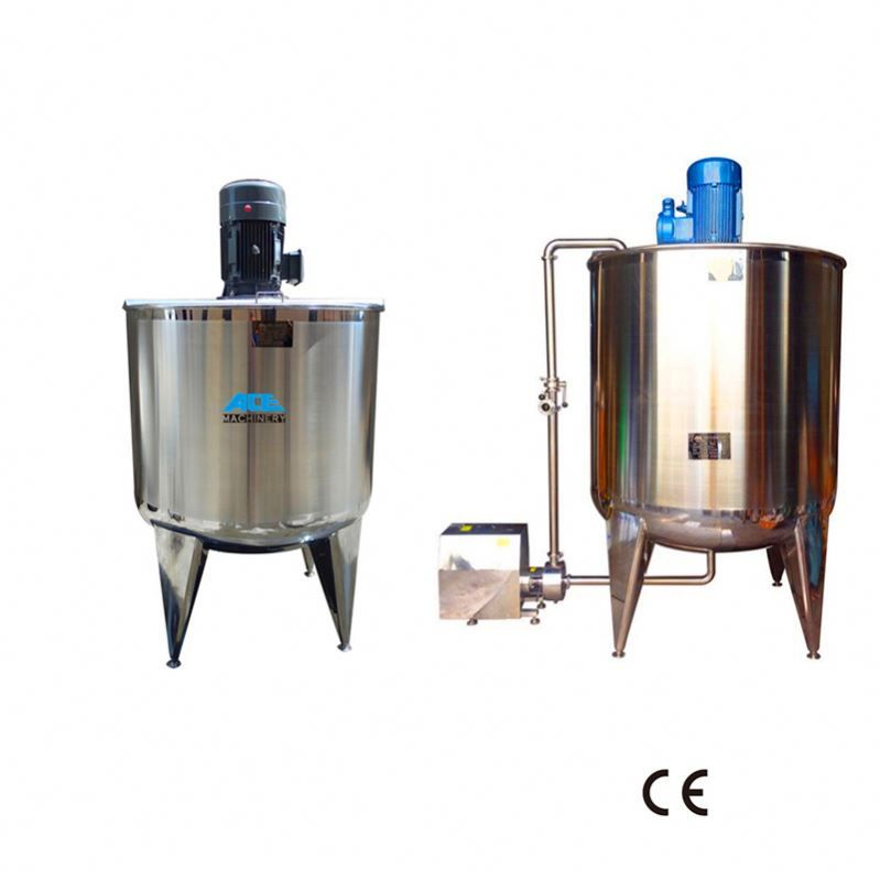 Factory Price Stainless Steel Polymer 1000 Liters 5 Ton 5000 Liter Mixing Tank Stainless Stainless Steel Steel