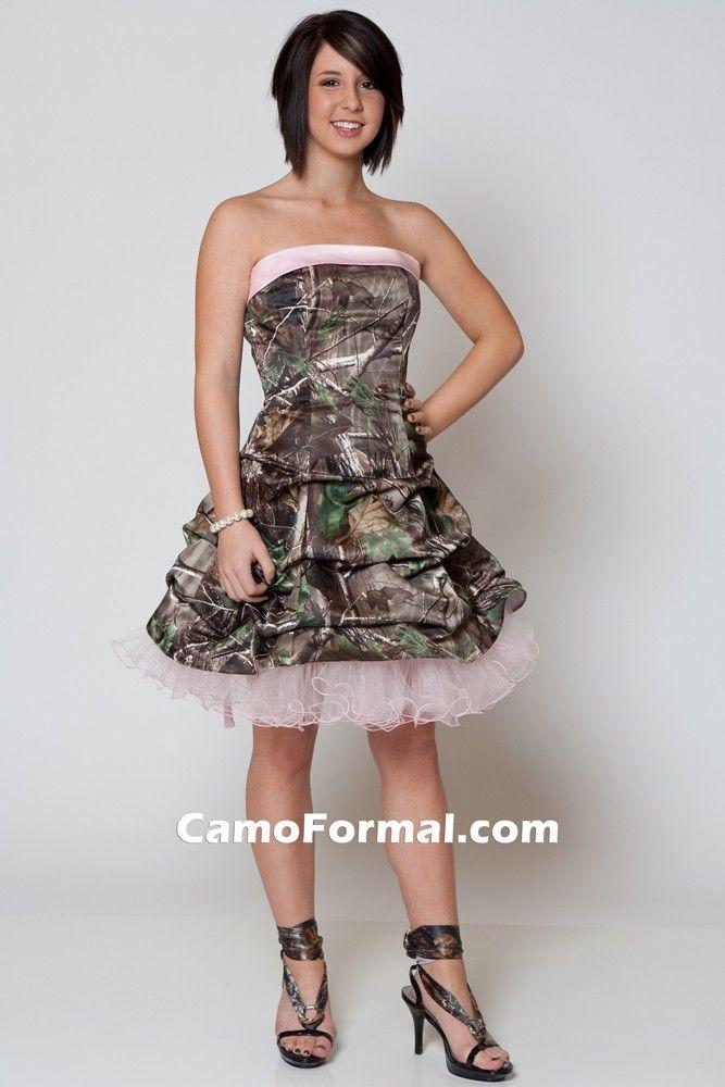 Realtree Camo Prom Dresses - Ocodea.com