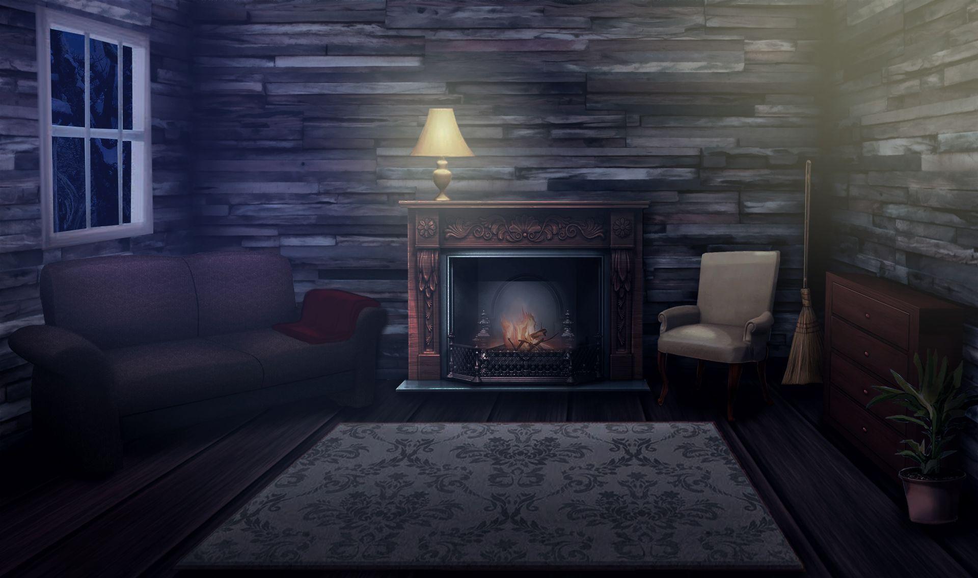 Dark Anime Bedroom Background Em 2020 Com Imagens Cenario