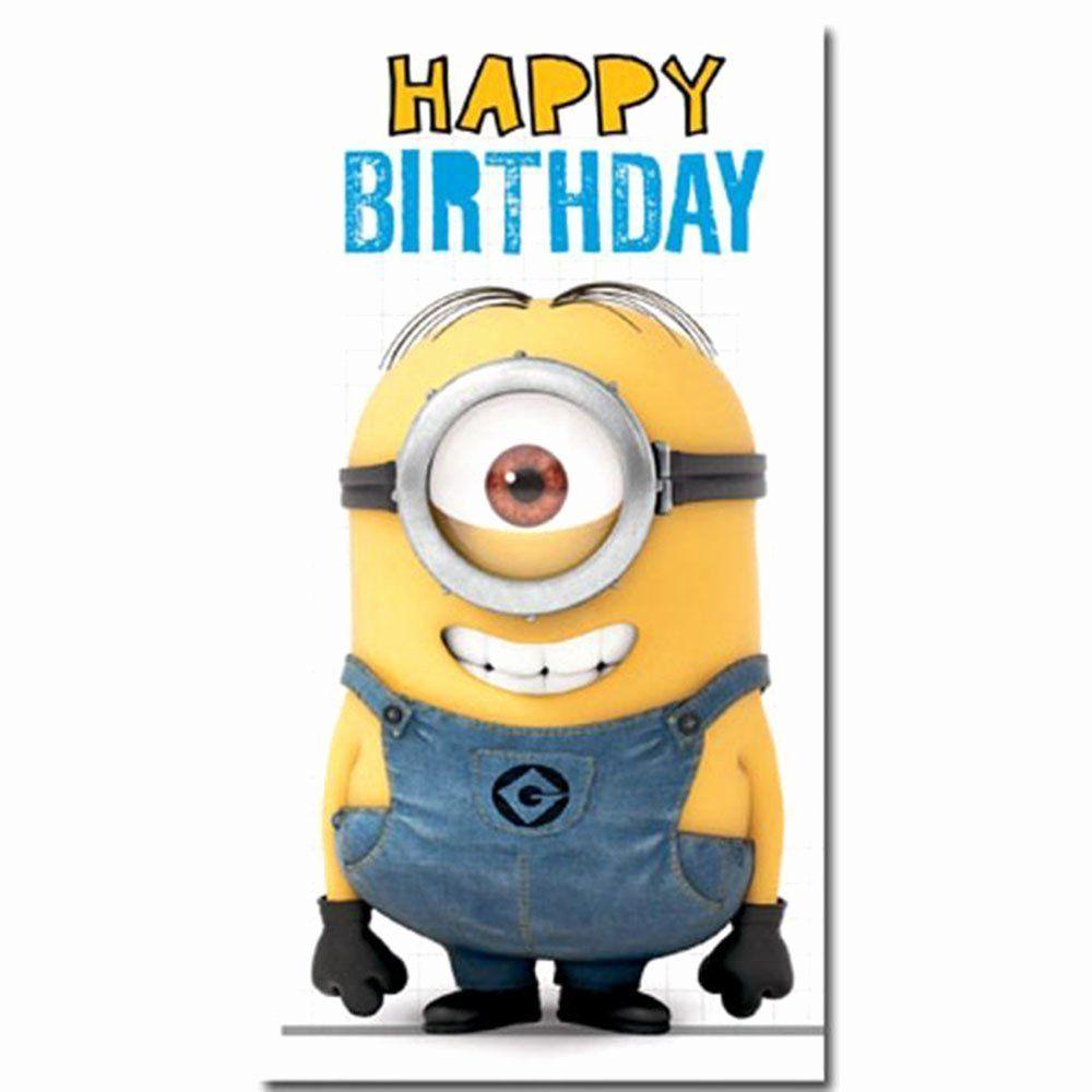 Minions Christmas Cards Inspirational The Minions Happy Birthday Energy Music Minion Card Happy Birthday Minions Minion Birthday Card