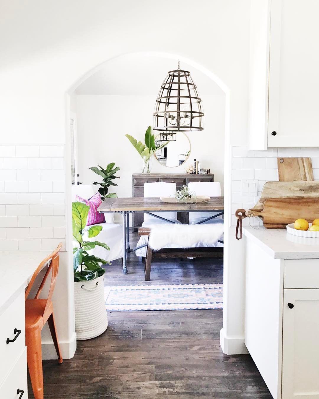 Bright White & Rustic Home Decor | Bright, Apartments and Interiors