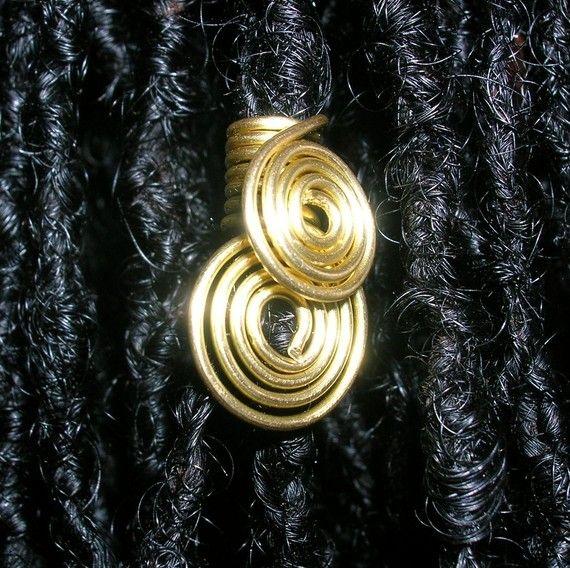 Ein paar Double Dutch Sperren Folien - Gold