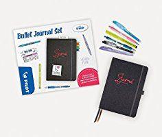 Pilot 9330001S6 Bullet Journal Set, Neon Trend