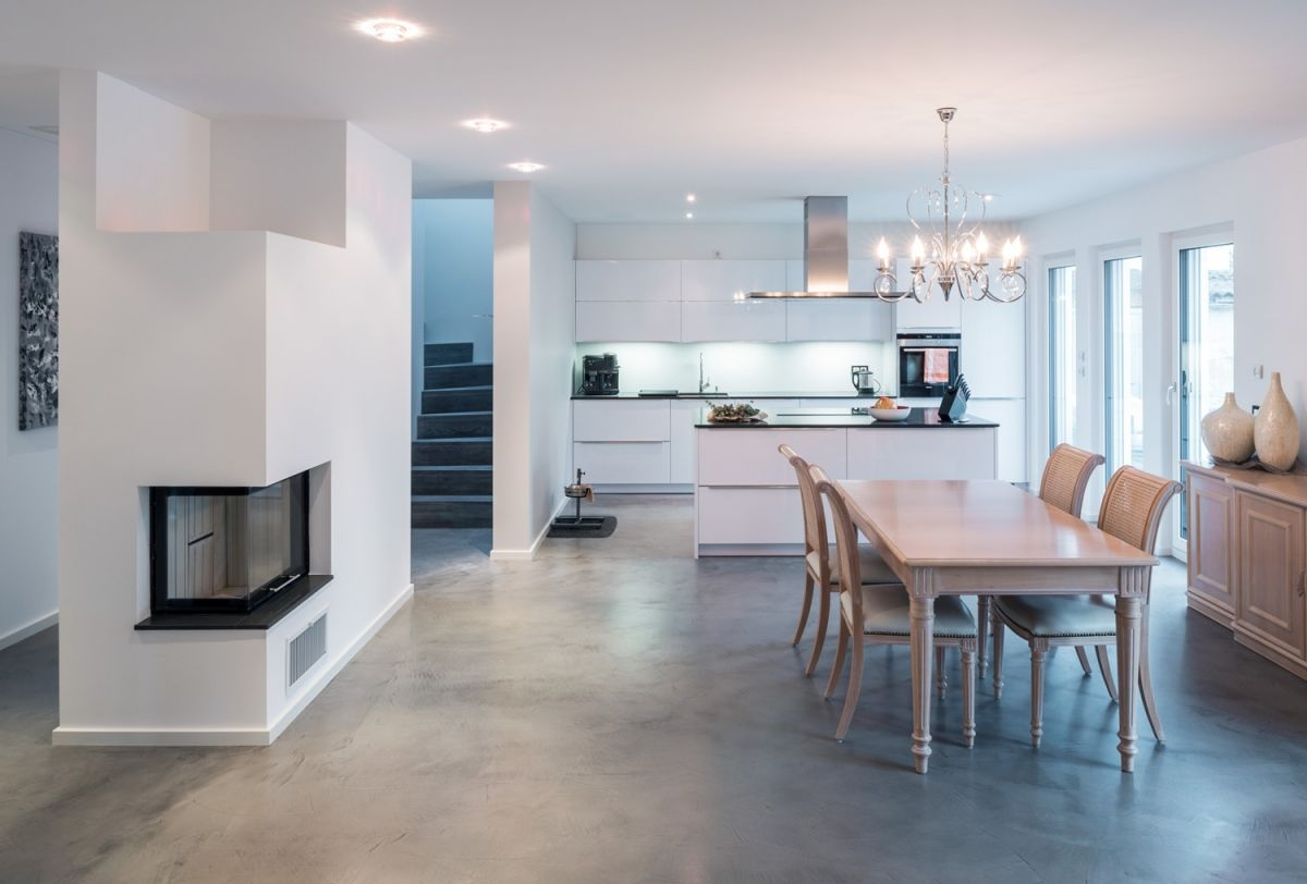 Betonfußboden wunderschön verarbeiteter betonfußboden béton floor no 3 greor