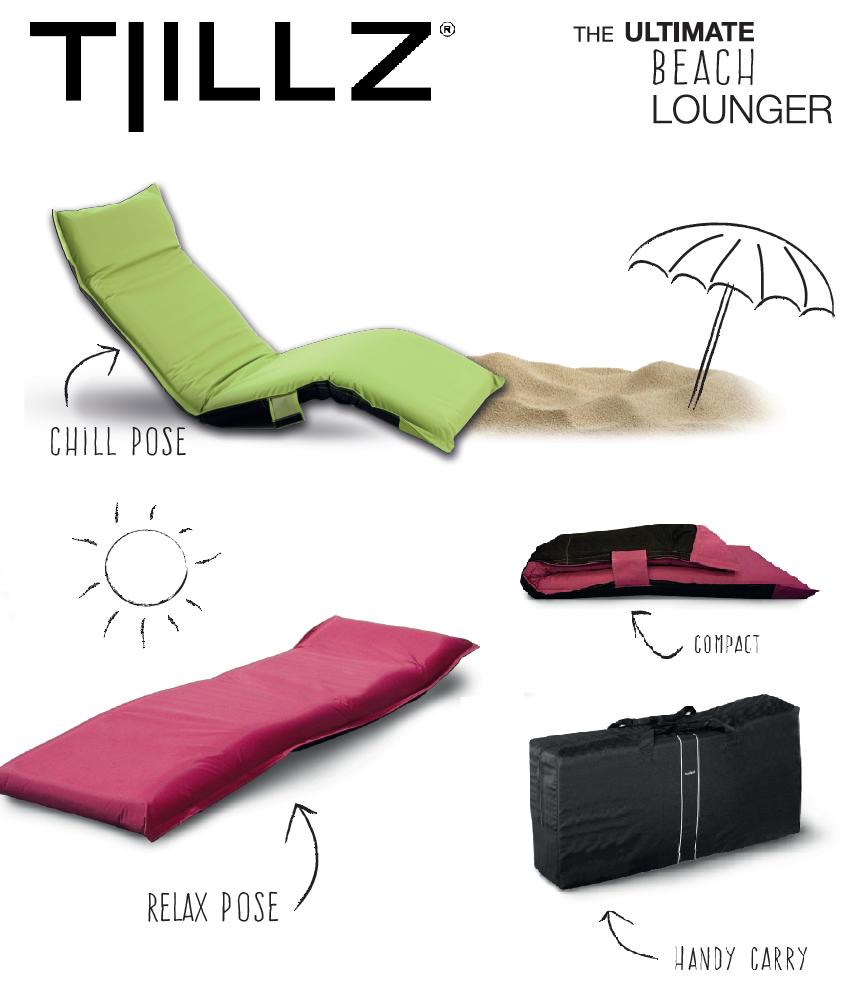 Transat De Plage Pliable Et Portatif Beach Lounger Chaise