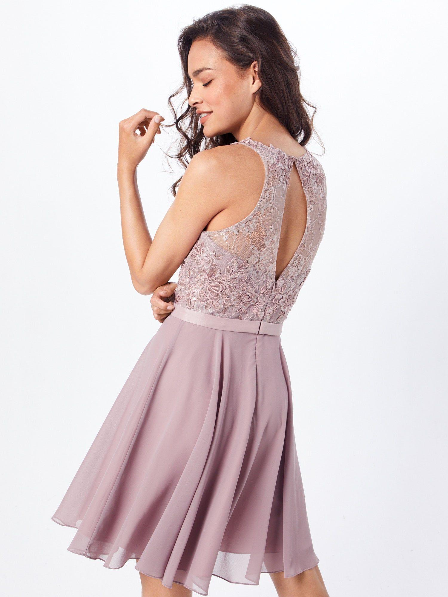 MAGIC NIGHTS Kleid Damen, Taupe, Größe 10  Kleider, Damen und Models