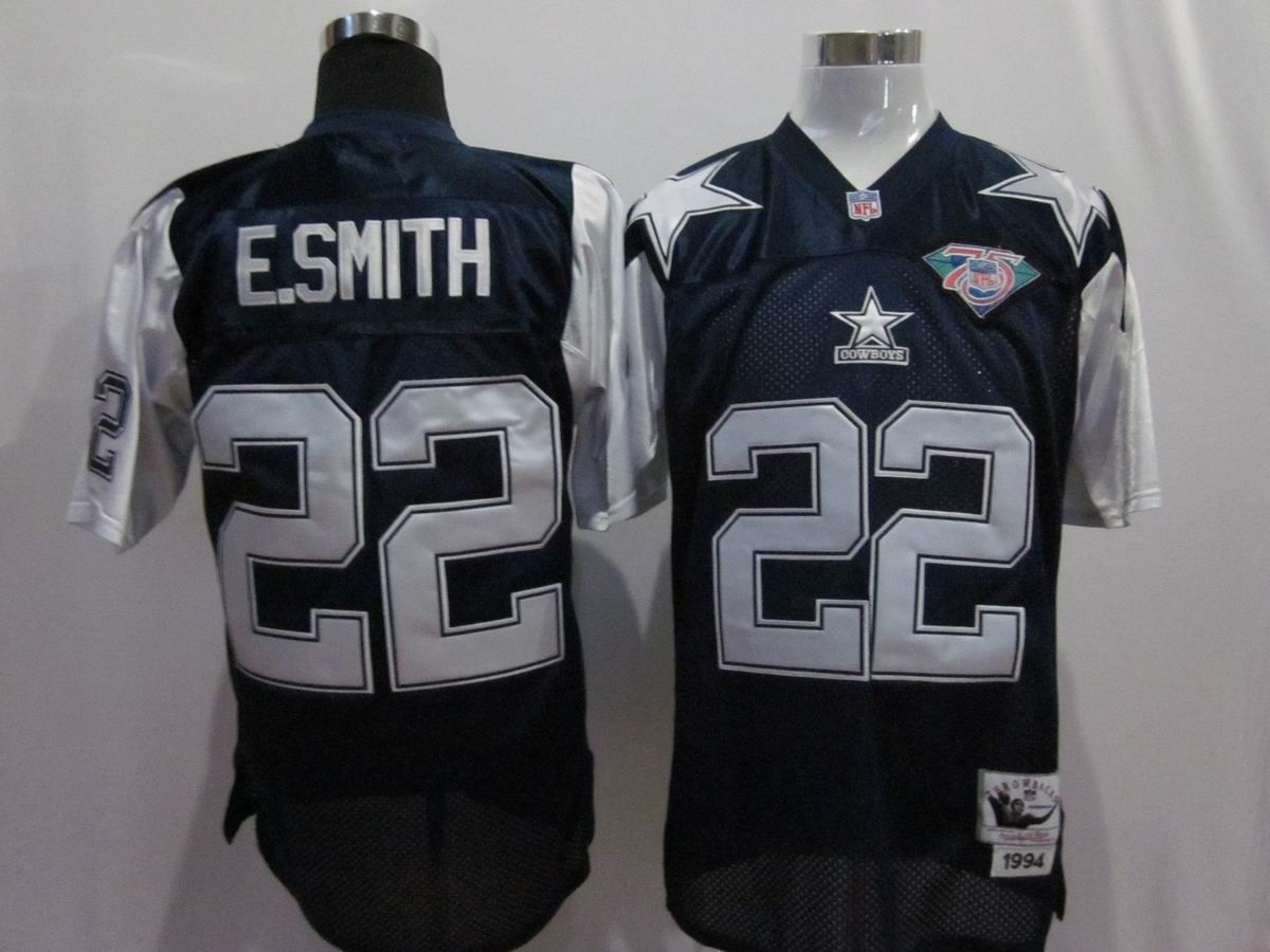release date 9049f 704fe E.Smith Blue 75th Jerseys $19.99 This jersey belongs to E ...