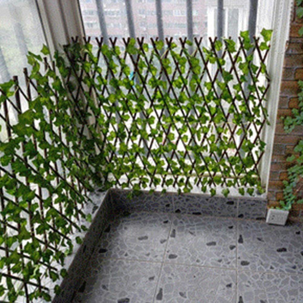 Artificial Garden Privacy Fence – Begonia