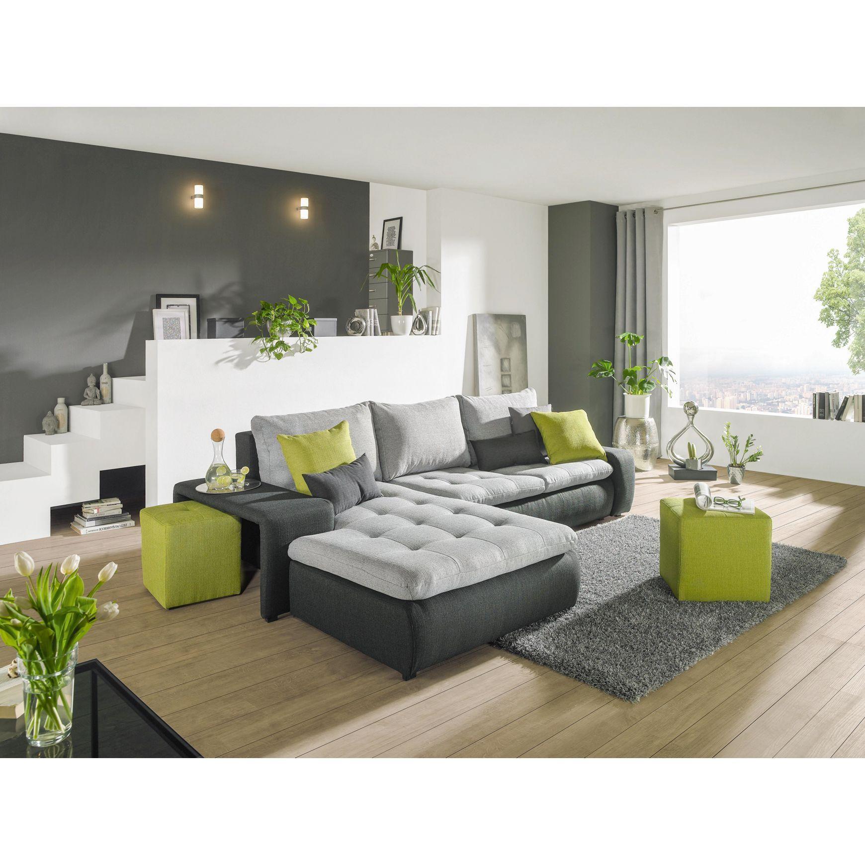 die besten 25 wohnlandschaft mit schlaffunktion ideen auf pinterest couch mit schlaffunktion. Black Bedroom Furniture Sets. Home Design Ideas