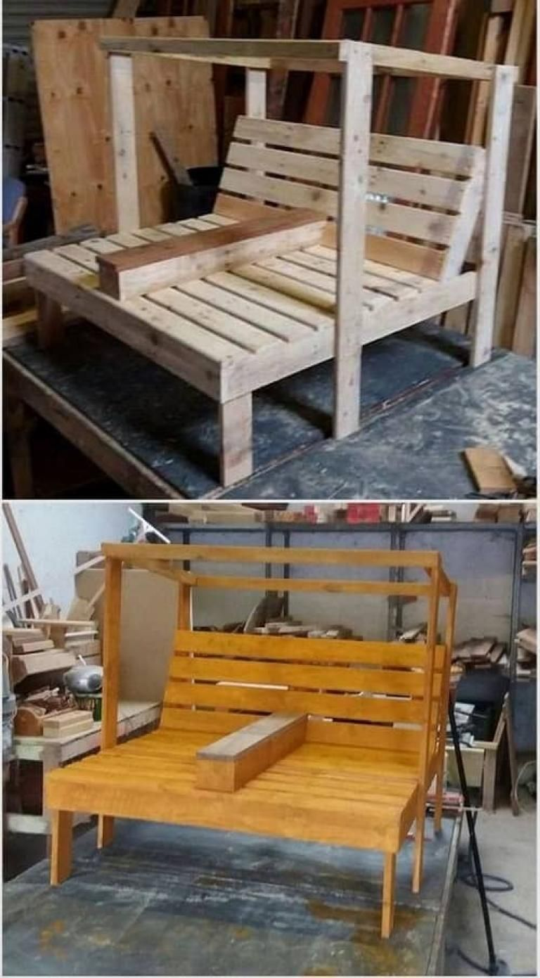 Best Wood Pallet Lounge Chair Ideas For Your Patio Ideas Patio