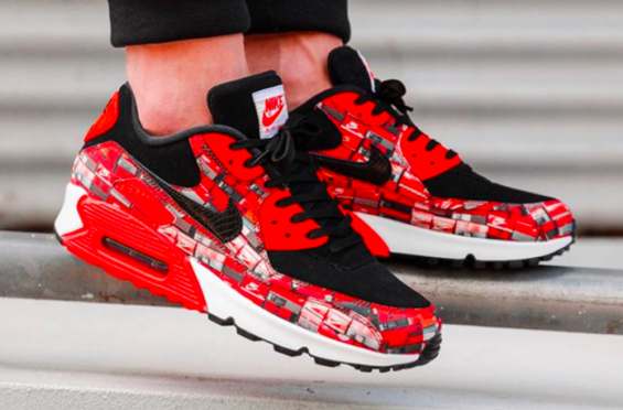 Are You Waiting For The atmos x Nike Air Max 90 We Love Nike