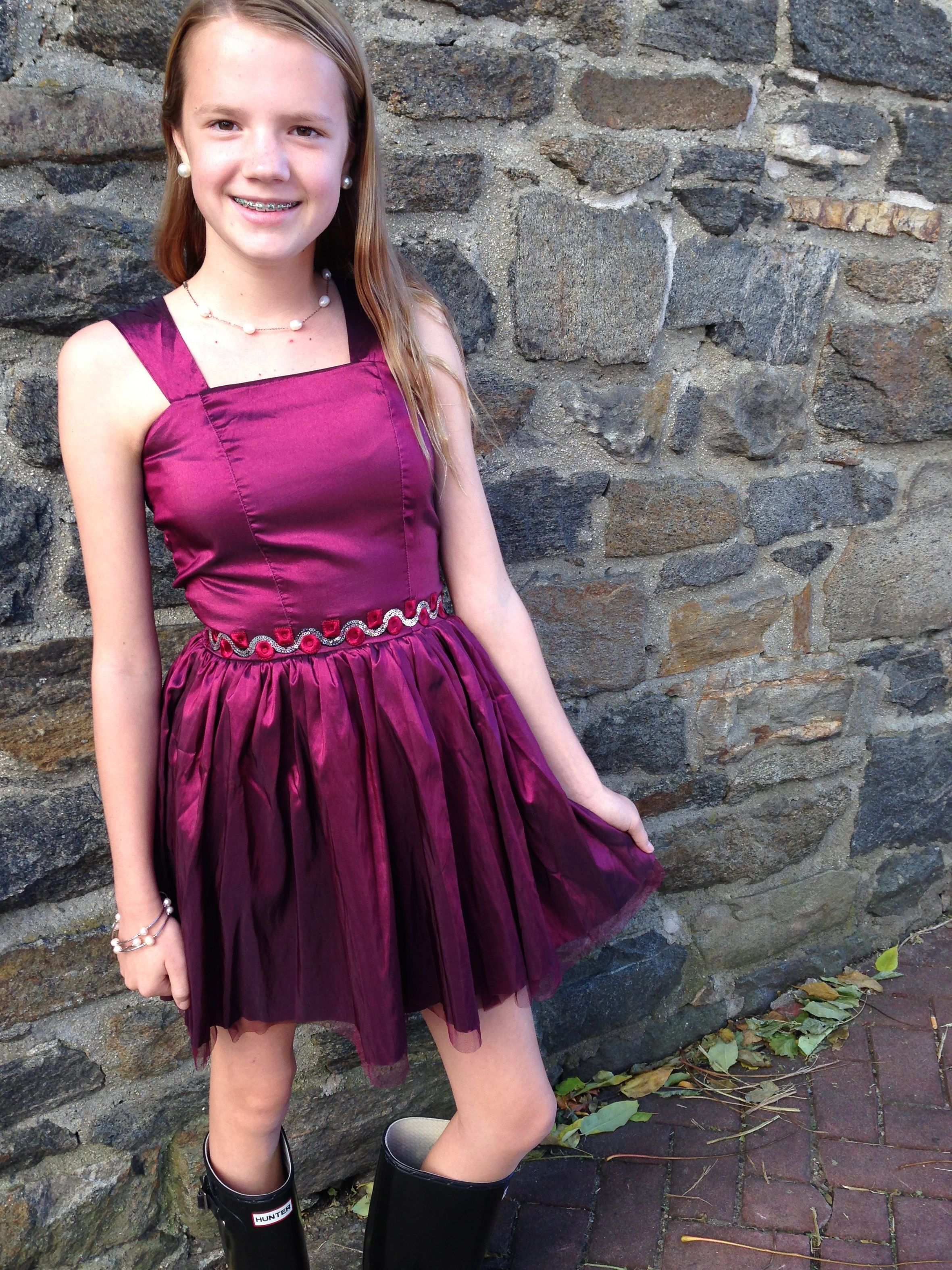 Lauren  Wearing Color - Tween And Teen Special Occasion -2576