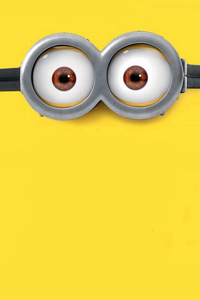 Minion Eyes Wallpaper (With Images)