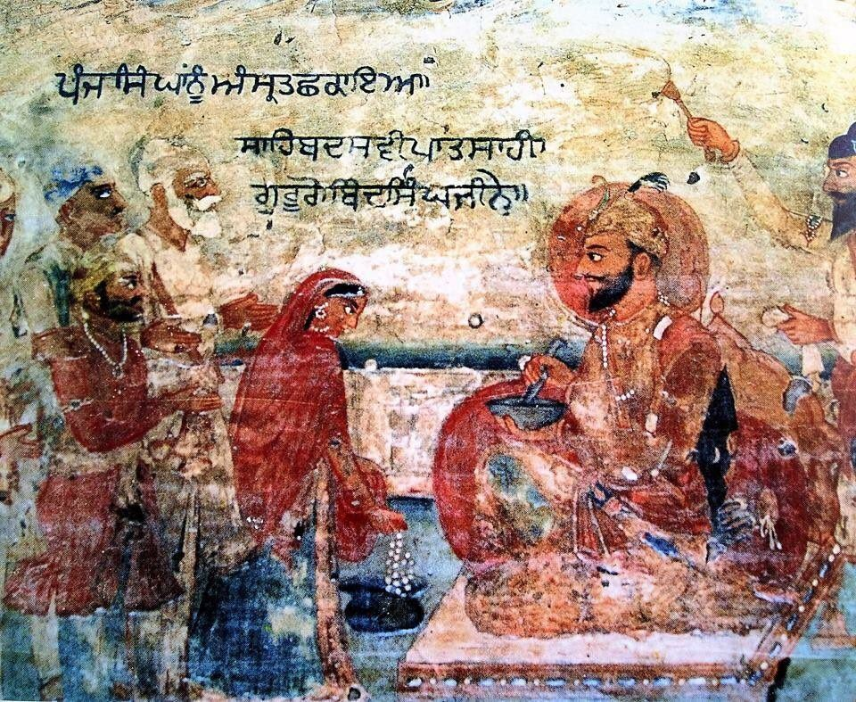 Empire Of The Sikhs On Hindu Art Art Painting