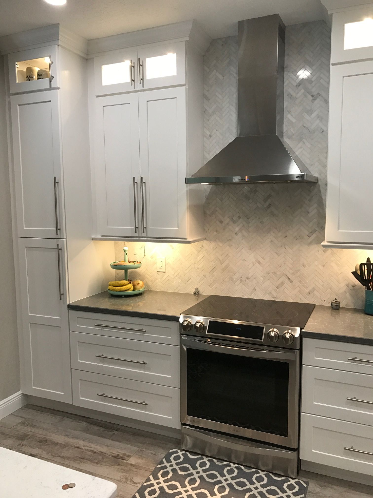 Riechhardt Kitchen AFTER This kitchen features White Shaker
