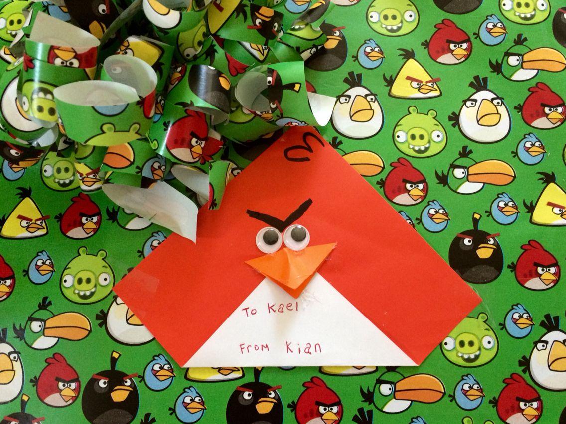 Angry Bird card ideas