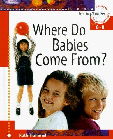 Where Do Babies Come From? (Learning about Sex) by Ruth Hummel, http://www.amazon.com/dp/0570035635/ref=cm_sw_r_pi_dp_rh9qqb1249BXX