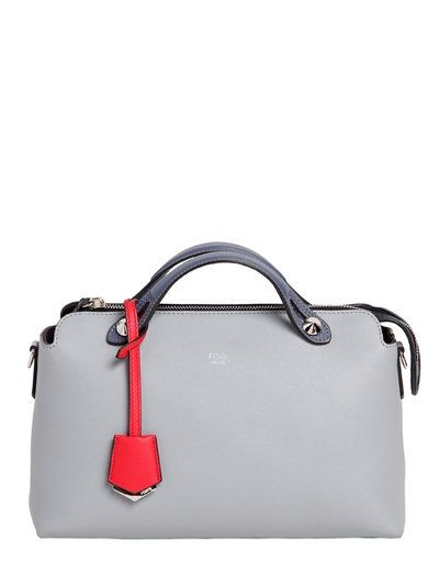 38f7cdb97d5 FENDI SMALL BY THE WAY LEATHER SHOULDER BAG, SKY BLUE. #fendi #bags #shoulder  bags #hand bags #leather #
