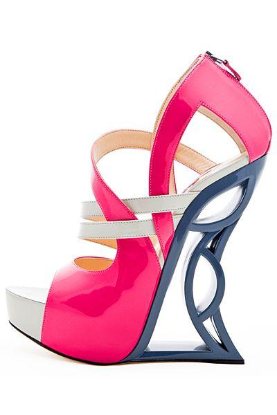 womens high heel shoes: interesting high heel designs
