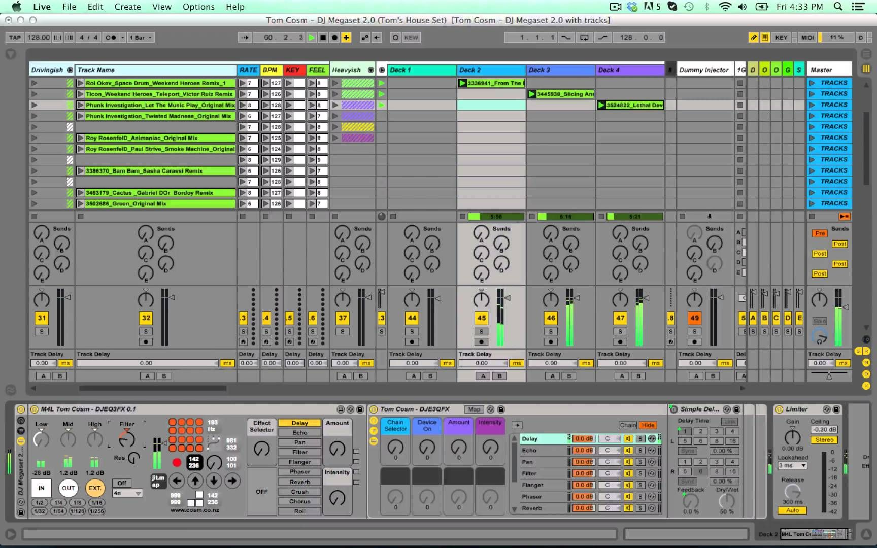 Tom Cosm - DJ Megaset