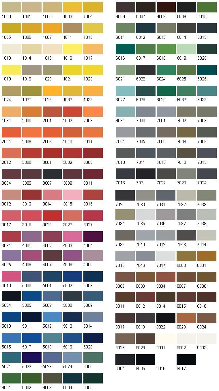 Jotun Paint Enamel Colours Enamel Jotun Home Paint Chart Painting Shop Front Design Shop Window Design Ral Colour Chart