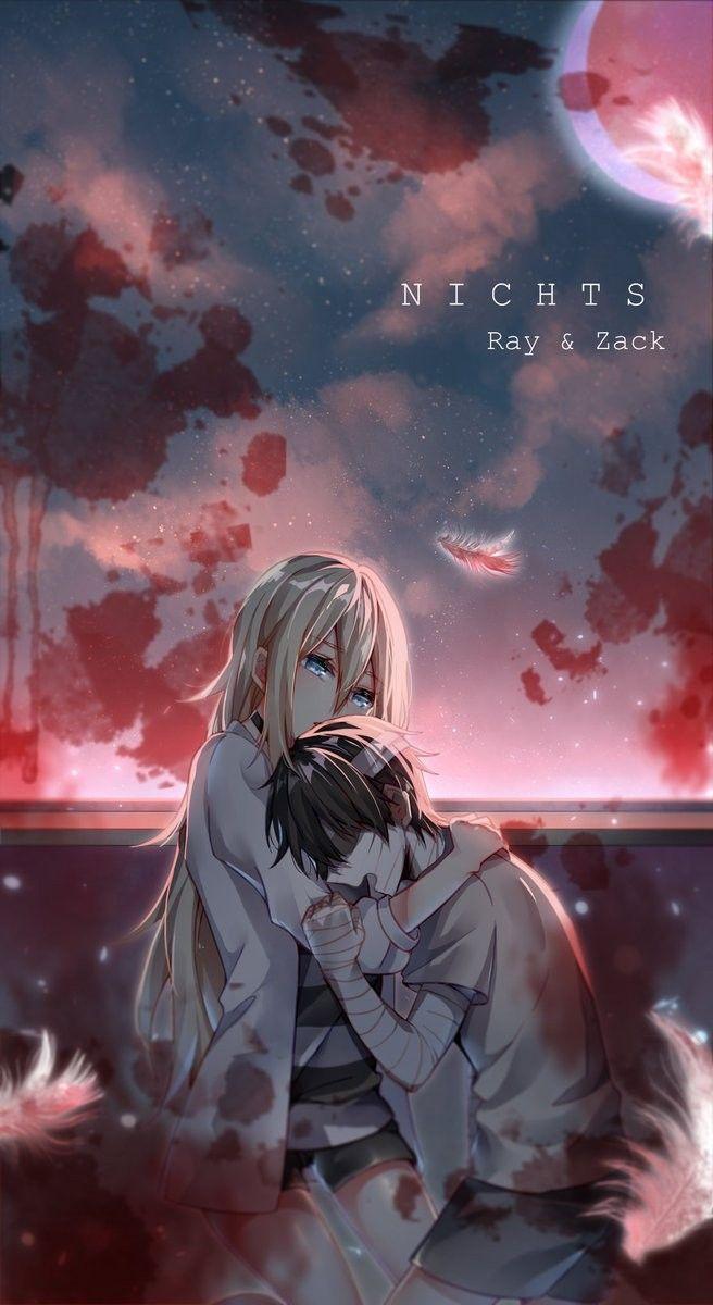 Angel of Slaughter 殺戮の天使 (Massacre Angel) (Satsuriku no Tenshi) 君が笑うまで Angels of Death Fanart Ray (Rachel Gardner) and Zack (Isaac)
