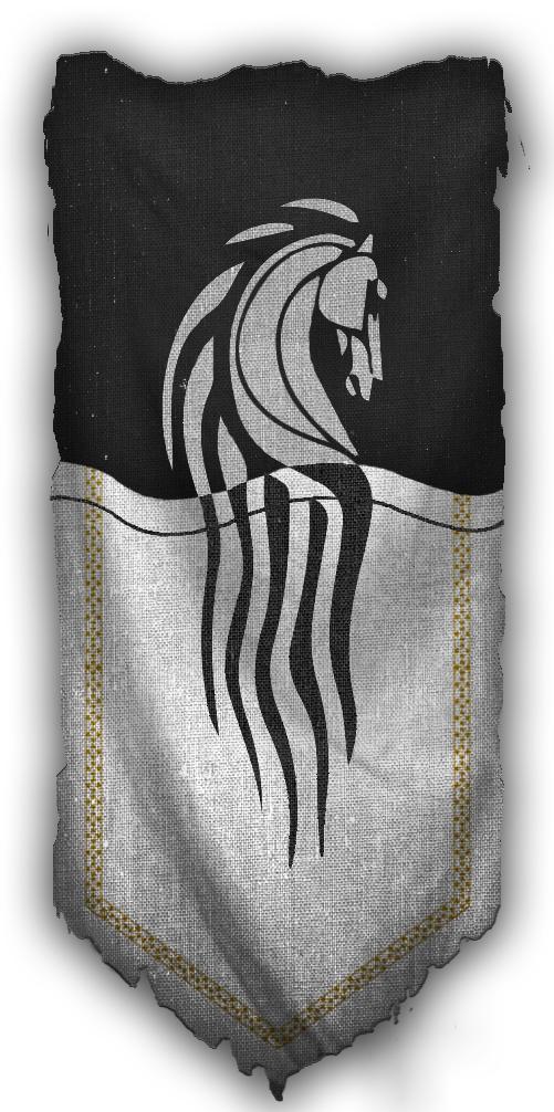 Knights Of Tiston Banner Medieval Fantasy Flag Banner