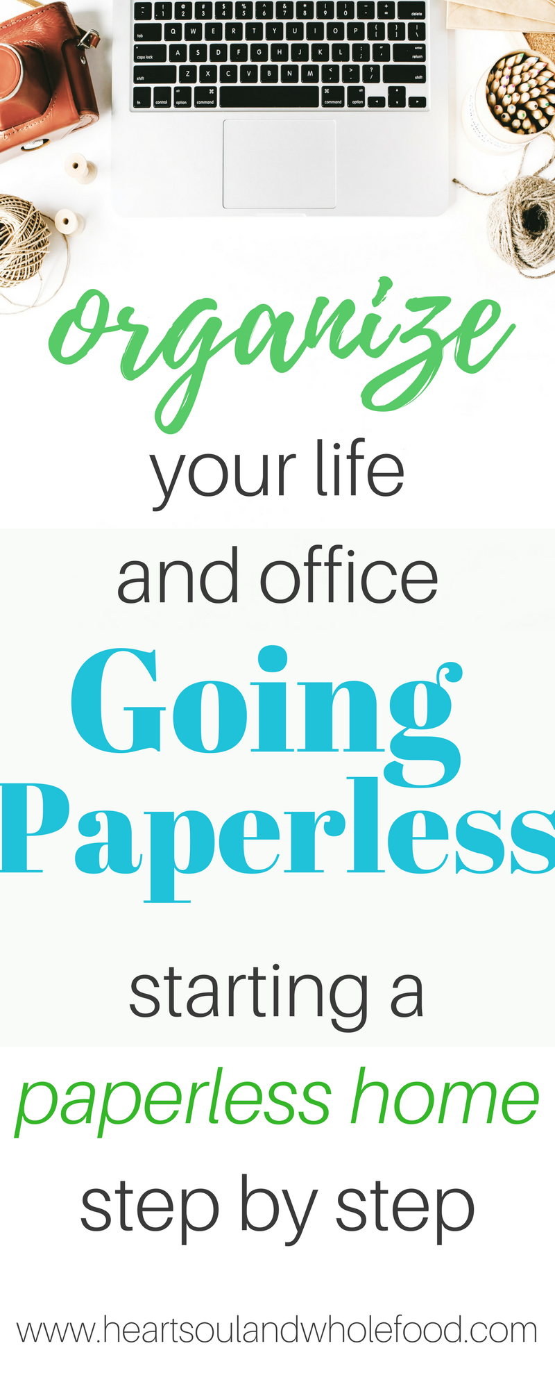 How To Go Paperless   Step By Step. Declutter Your Home Office And Enjoy A