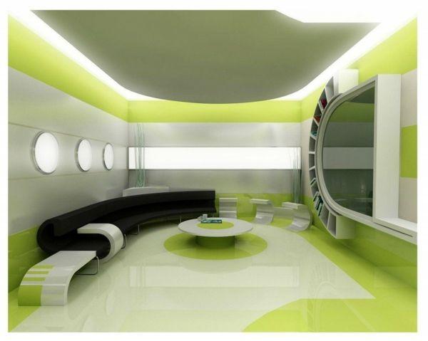 Design D'intérieur Futuriste