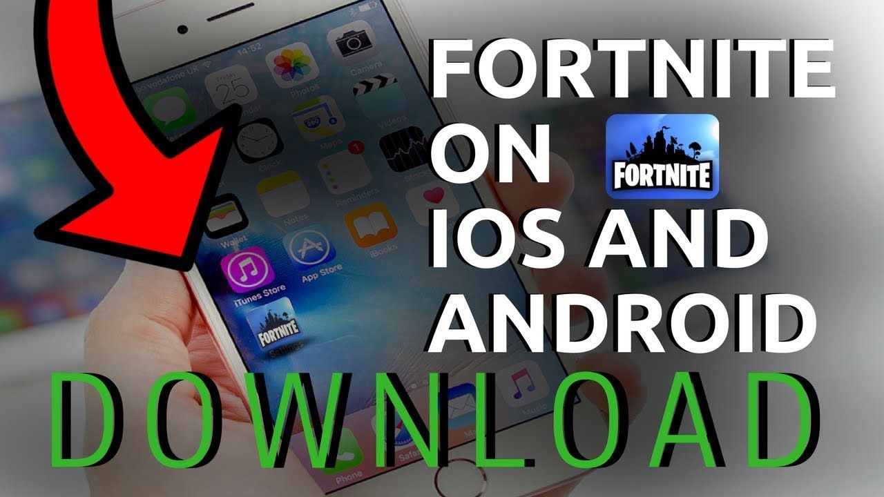 fortnite ios download