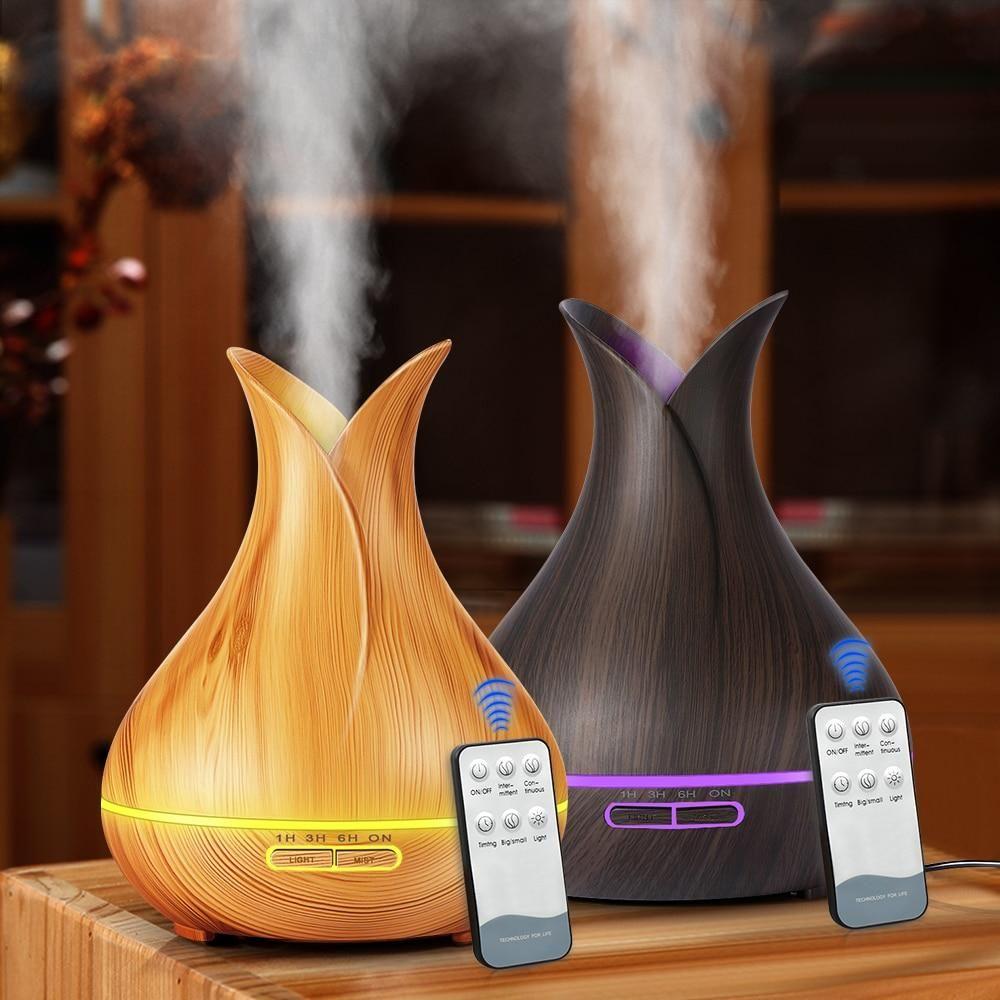 KBAYBO 400ml electric Ultrasonic Aroma Air humidifier