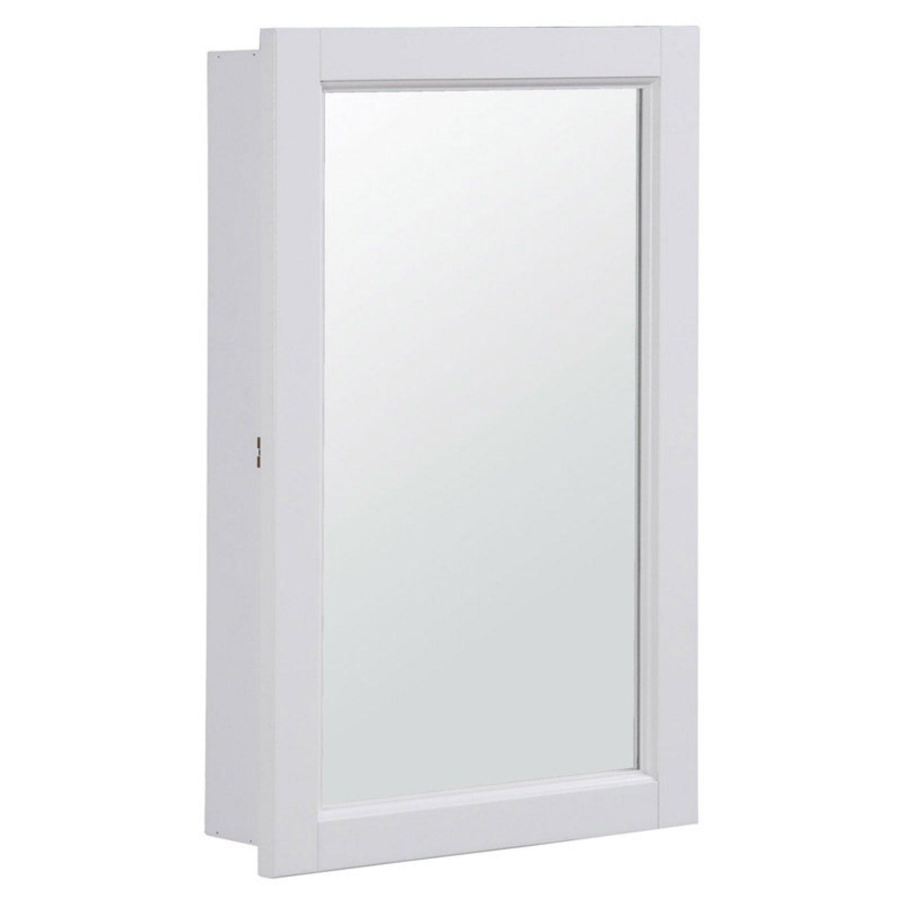 Design house concord medicine cabinet mirror with door and