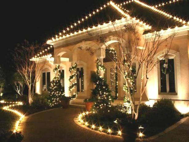 Decoration Christmas Light Ideas Outdoor Cheap Landscaping Ideas For