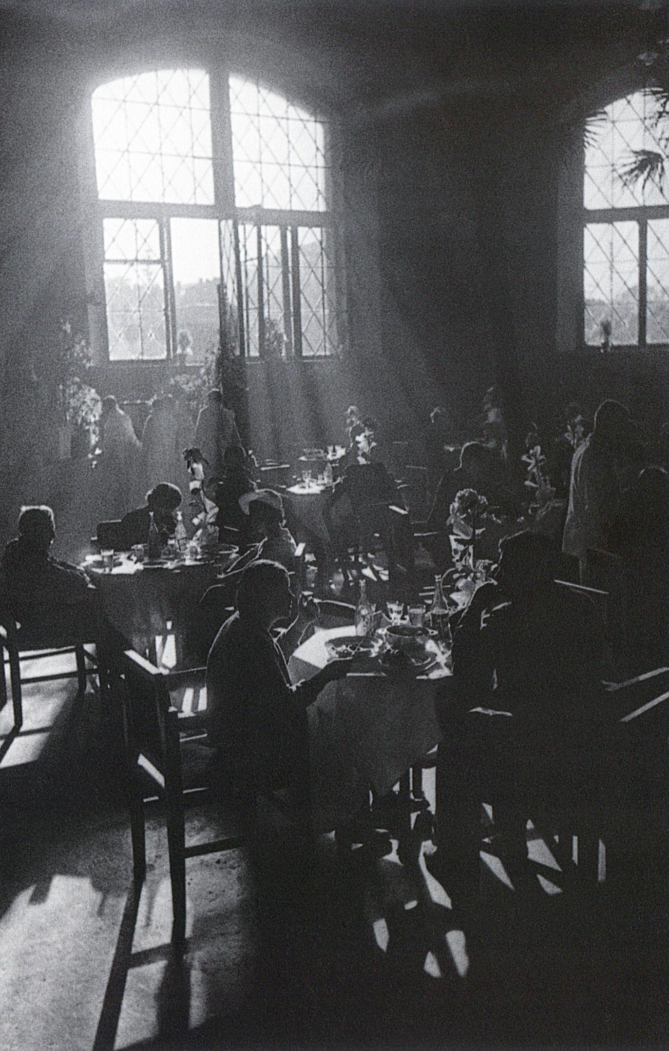 Кафе. Москва. 1936 г.-Arkady Shaikhet (1898-1959)