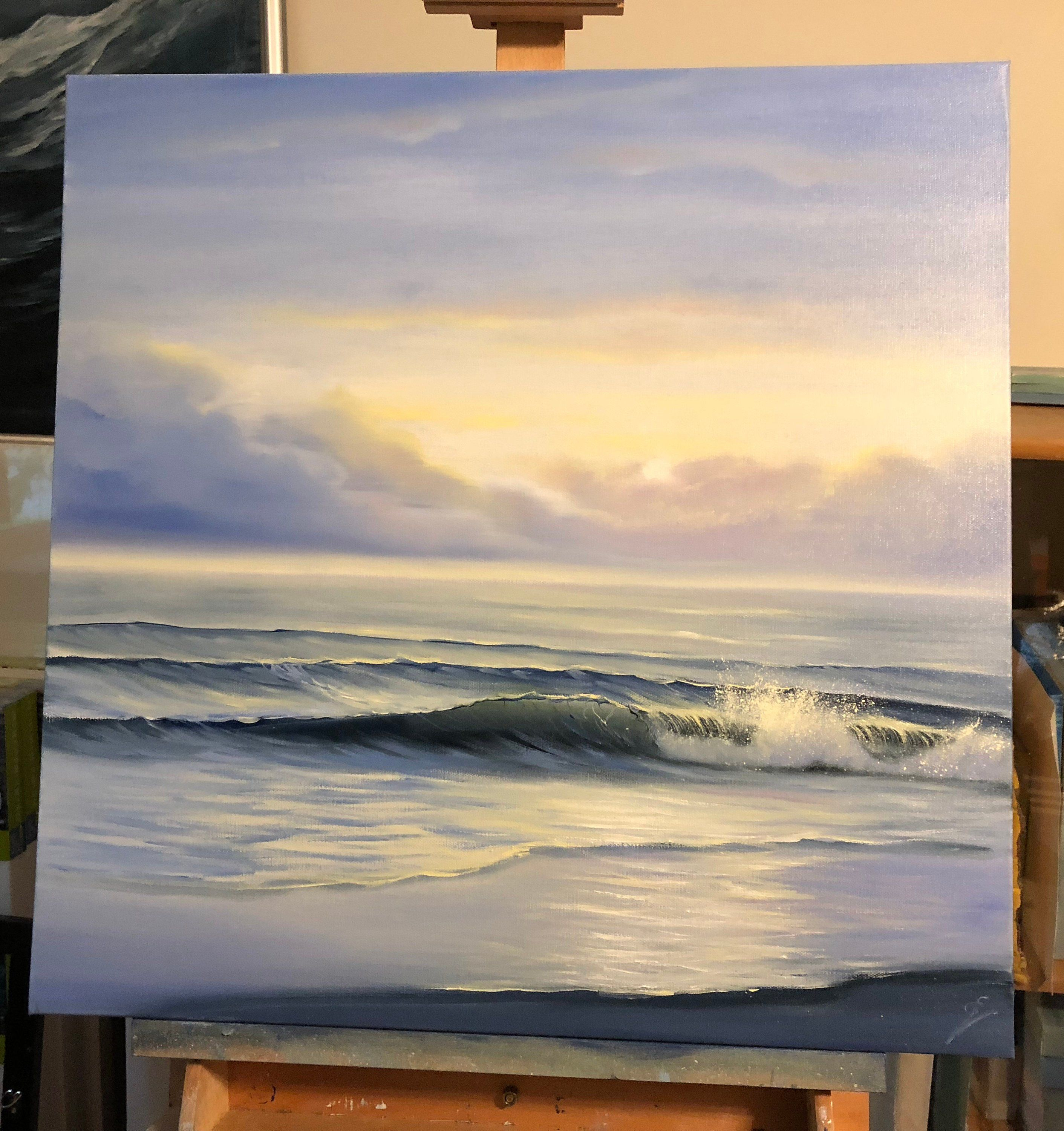 This Item Is Unavailable Etsy Oil Painting Landscape Sunrise Painting Seascape Paintings