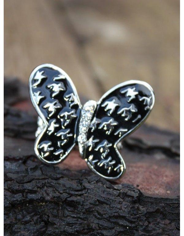 Anillo ajustable mariposa - Nupaní