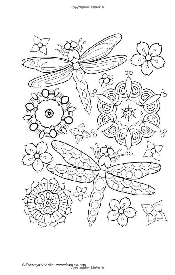Color Love Coloring Book Perfectly Portable Pages Thaneeya Mcardle 9781497200357 Books Amaz Butterfly Coloring Page Coloring Books Pattern Coloring Pages
