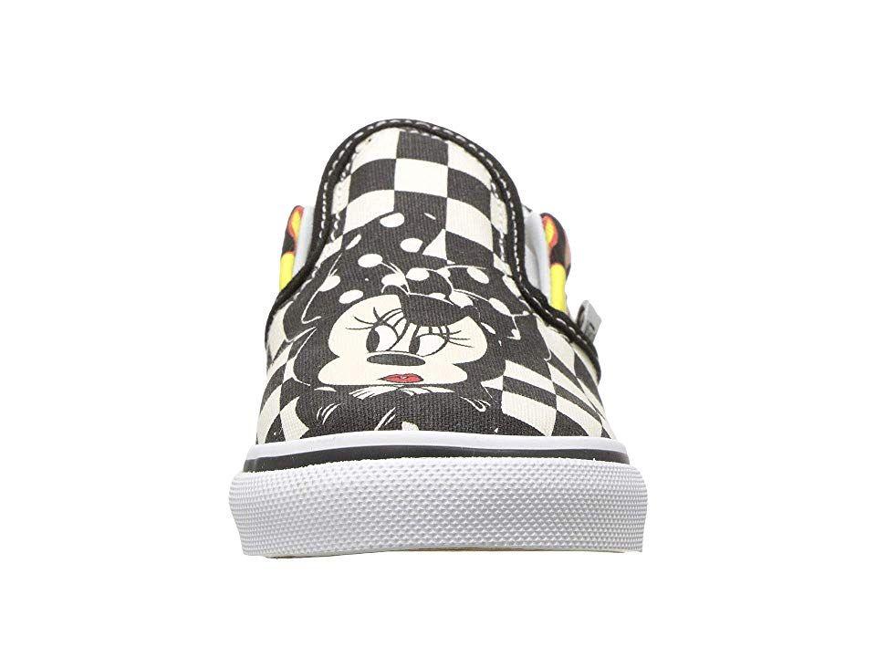 50c3423b28e752 Vans Kids Mickey s 90th Classic Slip-On (Infant Toddler) Boys Shoes ...