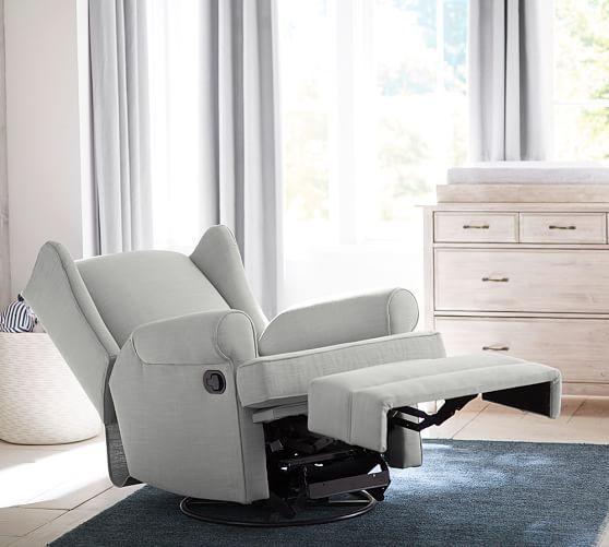 Pb Wingback Glider Amp Recliner Glider Recliner Furniture