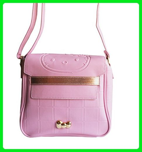 5f2d516ad1 Hello Kitty Limited Edition Adorable Fancy Pink Messenger Bag Cross-body  Purse Smoky Pinkish Collection