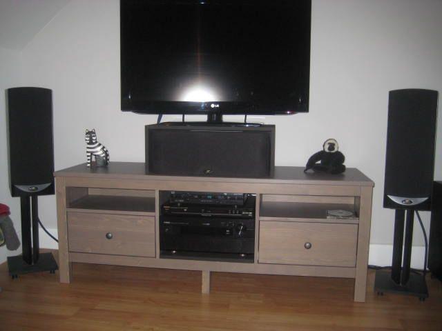 Hemnes Stereo Tv Stand Avec Images Salon Organisation