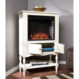 Sam S Club Jefferson Electric Fireplace Bookcase Tower
