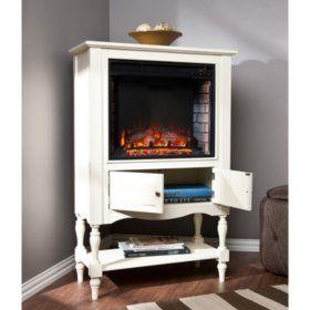 Remarkable Sams Club Jefferson Electric Fireplace Bookcase Tower Download Free Architecture Designs Itiscsunscenecom