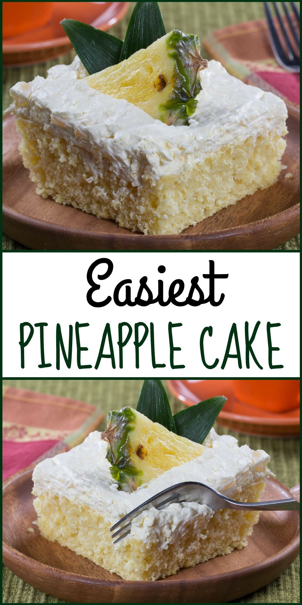 Easiest Pineapple Cake Recipe Easy pineapple cake Pineapple