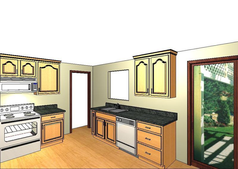 20 20 Design Proposal For Bell Kitchen Remodel Designer Ed Sheats Design Remodel Kitchen Remodel Custom Cabinets