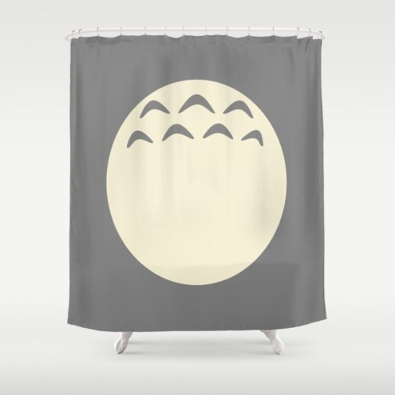 Totoro Curtain Studio Ghibli Shower Curtain Totoro Bathroom