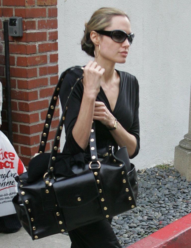 The Many Bags Of Angelina Jolie Hammitt Belair Diaper Bag