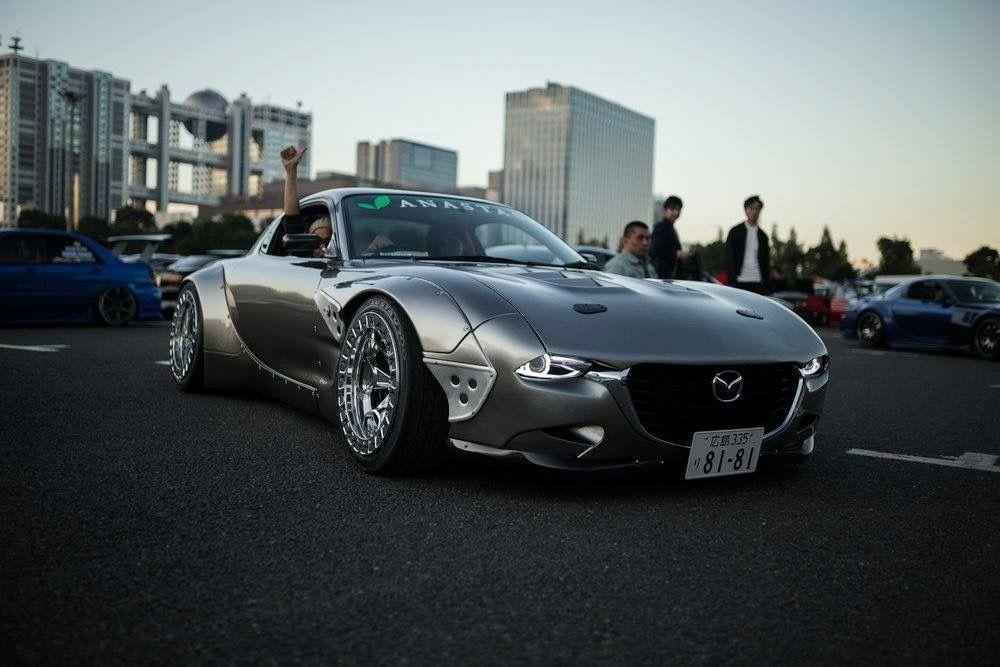 Mazda Rx7 W Custom Mx5 Front End Conversion Modified