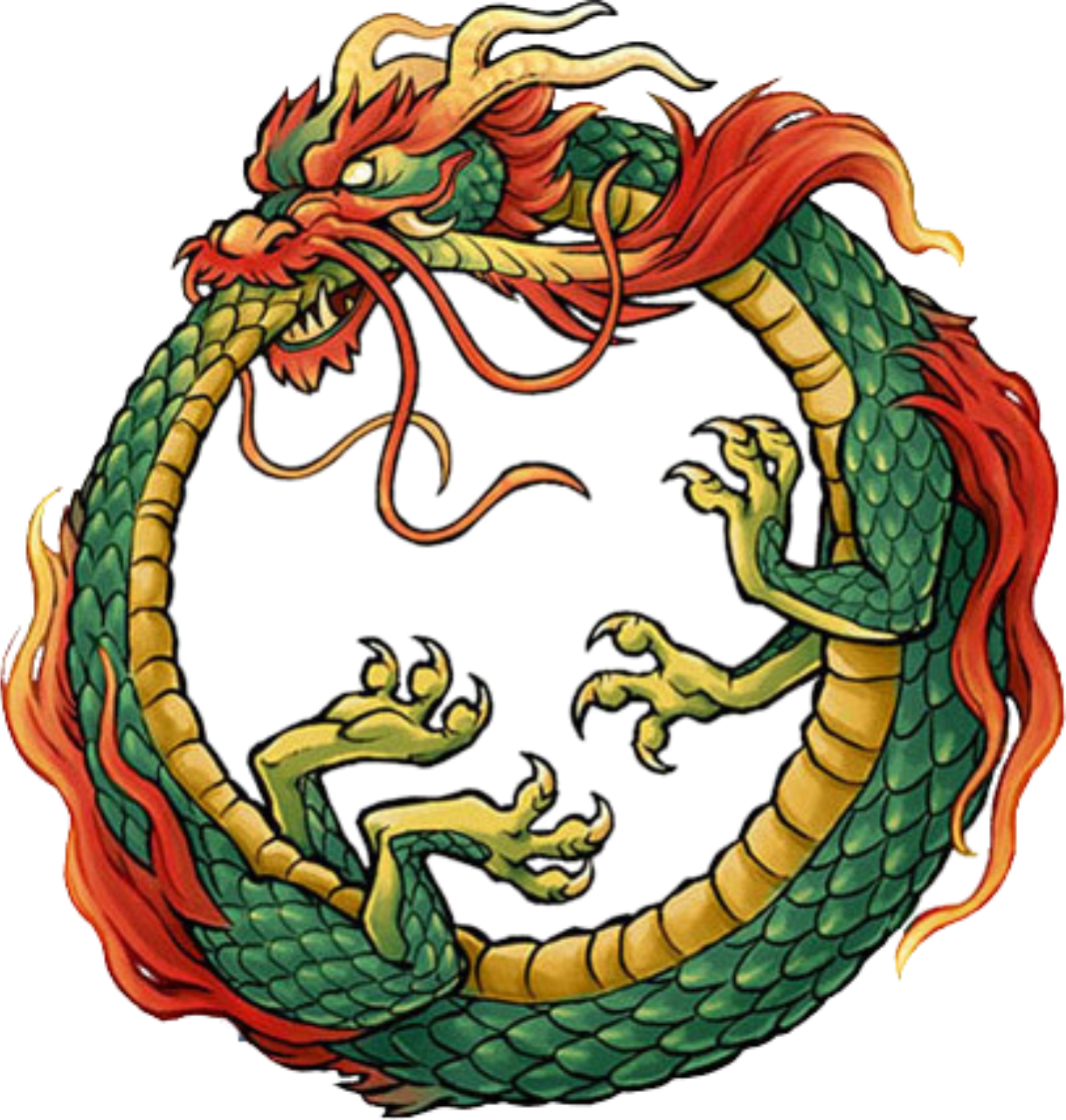 The Infinity Symbol Ouroboros The Snake Eating Its Tail Is