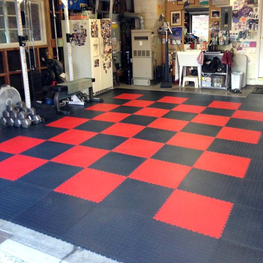 6 5 Mm Coin Flex Tiles Interlocking Pvc Garage Tiles Garage
